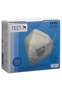 TECT FFP2 Faltmaske ohne Ventil 10 Stk