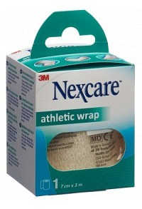 3M NEXCARE Athletic Wrap 7cmx3m weiss