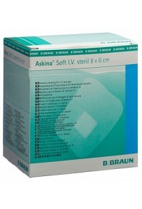 ASKINA Soft I.V. 8x6cm steril 50 Stk