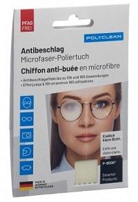 POLYCLEAN Antibeschlag Microfasertuch