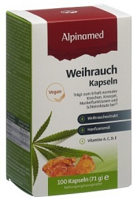 ALPINAMED Weihrauch Cannabis Kaps 100 Stk