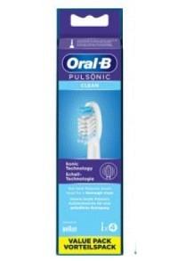 ORAL-B Aufsteckbürsten Pulsonic Clean 4 Stk