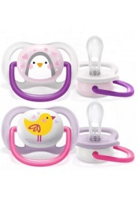 AVENT PHILIPS ultra air co 0-6M Girl Ping/Vo 2 Stk
