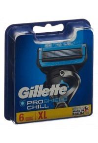 GILLETTE ProShield Chill Klingen (neu) 6 Stk