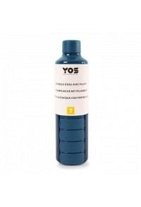 YOS Bottle Wochendispenser 375ml mit 7Fächern blau