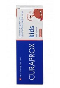 CURAPROX kids Kinderzahnp Erdbeere o Fluorid 60 ml