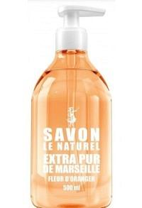 SAVON LE NATUREL Fr Fleur Oranger Disp 500 ml