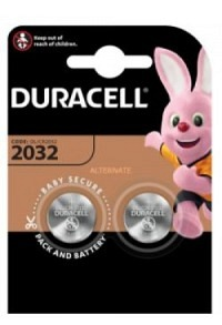 DURACELL Batt CR2032 3V Lithium B2 XL Blist 2 Stk