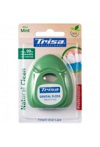 TRISA Natural Clean Zahnseide 40m mint