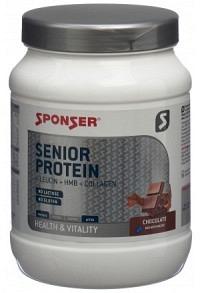 SPONSER Senior Protein Plv Chocolate Ds 455 g