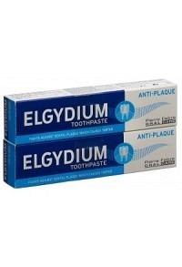 ELGYDIUM Anti-Plaque Zahnpasta Duo 2 x 75 ml