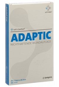 ADAPTIC Wundverband 7.6x20.3cm steril 24 Btl