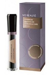 "M2 BEAUTE ""Eyebrow Enhancer Color & Care"" Brown"